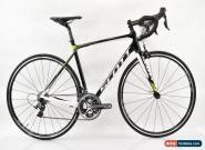 2014 Scott Solace 10 Dura-Ace 9000 Carbon Road Bike Small Black/White/Lime for Sale