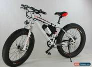 "High Quality Aluminium 26"" Fat Tyres Electric Bike / Snow Bike / Mountain Bike, for Sale"