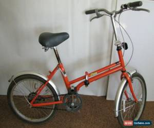 Classic AEON Foldable Folding Bicycle Used 2 Times NO Rust Single Speed MAKE ME AN OFFER for Sale