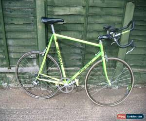 Classic rossolli lo pro time trial bike full size wheel H.R Morris built 25 inch frame for Sale