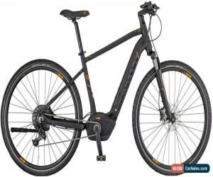 Classic Scott E-Sub Cross 10 Mens Electric Hybrid Bike 2018 - Black for Sale