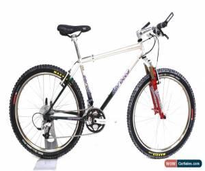 "Classic 1994 Serotta Max II Steel Mountain Bike M / 17"" 3 x 9 Speed White Industries for Sale"