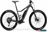 Classic Merida eBig Trail 800 Mens Electric Mountain Bike 2018 - Grey for Sale