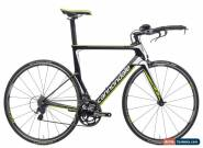 2015 Cannondale Slice 105 Time Trial TT Bike 57cm Large Carbon Shimano FSA for Sale