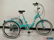 """ADULT TRICYCLE, 24"""" WHEELS, 6 SPD SHIMANO GEARS, triciclo, trike, ALLOY for Sale"""