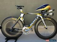 Scott HTC Highroad Plasma 3 TT/Triathlon Shimano Dura-Ace Di2 HED CeramicSpeed for Sale