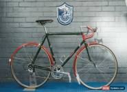 NEW Vintage Bates Volante Bicycle 57cm Fitted with NEW Campagnolo Chorus, Brooks for Sale