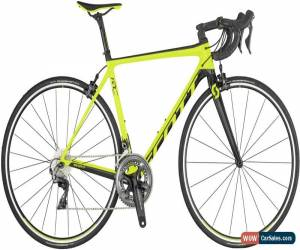 Classic Scott Addict RC 10 Mens Road Bike 2019 - Yellow for Sale