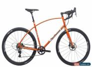 2017 Van Dessel Whiskey Tango Foxtrot Gravel Bike 62cm CrMo Steel SRAM Rival FSA for Sale