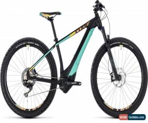 Classic Cube Access Hybrid SL 500 Womens Electric MTB 2018 - Black for Sale