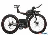 2017 Cervelo P5X Triathlon Bike Medium Carbon Shimano Ultegra Di2 6870 11s HED for Sale