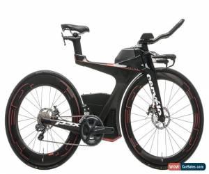 Classic 2017 Cervelo P5X Triathlon Bike Medium Carbon Shimano Ultegra Di2 6870 11s HED for Sale