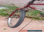 Red Bicycle for Sale