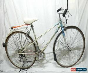 "Classic British Eagle Le Tour 19"" Ladies Mixte Bike Reynolds 501 Tubing Suntour XCM for Sale"