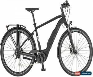 Classic Scott Sub Tour eRide 20 Mens Electric Hybrid Bike 2019 - Black for Sale