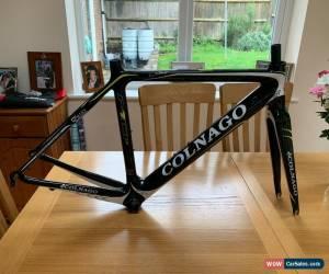 Classic Colnago M10S Carbon Road bike small size 45S (49 equivalent) in gloss/fluoro for Sale