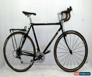 Classic Trek 520 Touring Road Bike 58cm Large 90s Ultegra DeoreLX USA Made Steel Charity for Sale