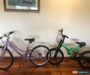 Classic Bulk Kids Bikes Girls Giant Veer 24 & Boys NR 20 7 Speed With Suspension for Sale
