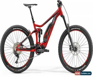 Classic Merida eOne-Sixty 900 Mens Electric Mountain Bike 2019 - Red for Sale