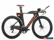 2018 Quintana Roo PRsix Triathlon Bike 50cm Carbon Shimano Dura-Ace Di2 Flo for Sale