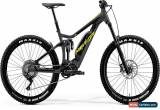 Classic Merida eOne-Sixty 600 Mens Electric Mountain Bike 2019 - Grey for Sale