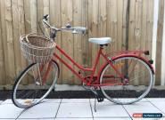 Vintage Ladies Bicycle - Bright Red for Sale