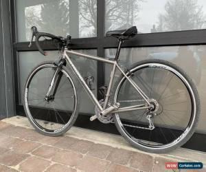 Classic Custom Carl Strong Titanium Gravel Bike, 45cm, Shimano Ultegra for Sale