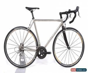 Classic 2003 Merlin Cyrene Titanium Road Bike 57 cm 10 Spd Dura-Ace Chris King Reynolds for Sale