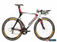 2010 Ridley Dean Triathlon Bike Large Carbon SRAM Red 10 Speed PRO Zipp 404 for Sale