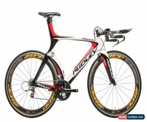 Classic 2010 Ridley Dean Triathlon Bike Large Carbon SRAM Red 10 Speed PRO Zipp 404 for Sale