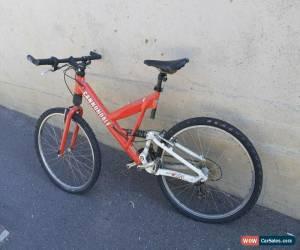 Classic Cannondale Super VSL mountain bike with P Bone suspension forks for Sale