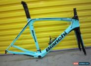 BIANCHI OLTRE XR3 CV FRAMESET.FULL CARBON.AERO ITALIAN.55cm.NEW COND.COST$4500 for Sale