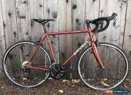Seven Cycles Resolute SLX Road Bike 55.5cm Steel Shimano 105 R7000 11s for Sale