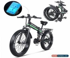 Classic Electric bike 1000W Electric Fat Bike Bike Cruiser Electric Bicycle  ebike Green for Sale