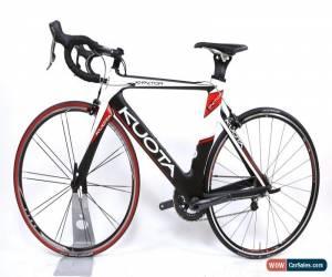 Classic Kuota K-Factor Carbon Fiber Road Bike Medium 53 cm 2 x 10 Speed Dura-Ace 700C for Sale