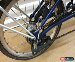 Classic BROMPTON M6R 6 SPEED BLUE FOLDING BIKE BICYCLE - WORLDWIDE SHIPPING for Sale