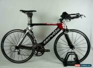 2008 Cervelo P3 Carbon 650c Wheels Dura Ace 10-Speed Oval Carbon bars Size: 48cm for Sale