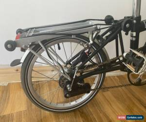 Classic  Brompton M6R  Folding Bike + Front basket for Sale