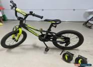 Giant Animator 16inch near new kids bike, detachable training wheels & kickstand for Sale