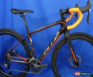 Classic New BLUE Prosecco EX Carbon Disc Ultegra Di2 Gravel/Road Bike - Size: XS/49cm for Sale