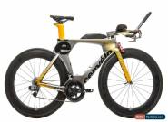 2016 Cervelo P5 Triathlon Bike 51cm Carbon SRAM Red eTap 11 Speed Profile Design for Sale