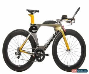 Classic 2016 Cervelo P5 Triathlon Bike 51cm Carbon SRAM Red eTap 11 Speed Profile Design for Sale