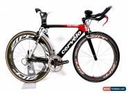 2008 Cervelo P3C Carbon Fiber Time Trail Bike 2 x 10 Shimano Zipp FSA 51 cm for Sale