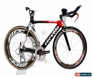 Classic 2008 Cervelo P3C Carbon Fiber Time Trail Bike 2 x 10 Shimano Zipp FSA 51 cm for Sale