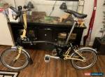 Brompton S6L Black And Yellow Mustard for Sale