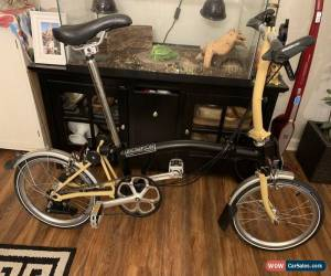 Classic Brompton S6L Black And Yellow Mustard for Sale