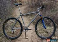 "Vintage Moots YBB Custom Anodized Titanium Mountain Bike - 19""/Large XTR M950 for Sale"