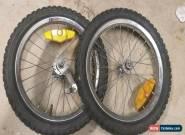 """Bmx 16"""" cmc rims set wheels for Sale"""