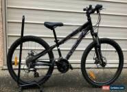 Boys Bike - Avanti Black Thunder 24  - Suspension / Disc MTB for Sale