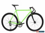 NEW 2016 Demo State Contender 55cm Zombie Green Steel Fixed Gear Track Bike for Sale